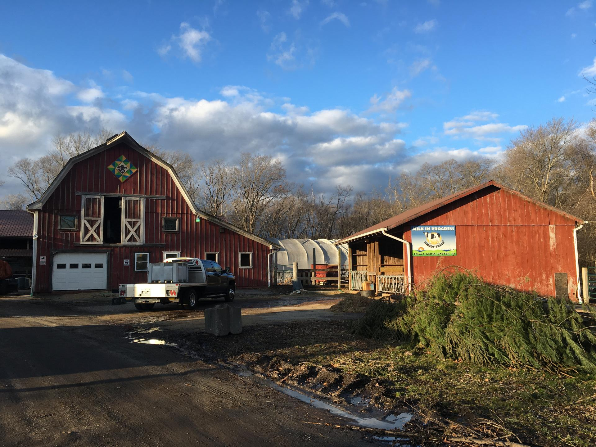 Emma Acres Dairy Farm in Exeter, Rhode Island