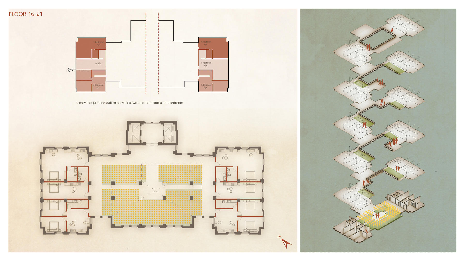 Plan of the unit