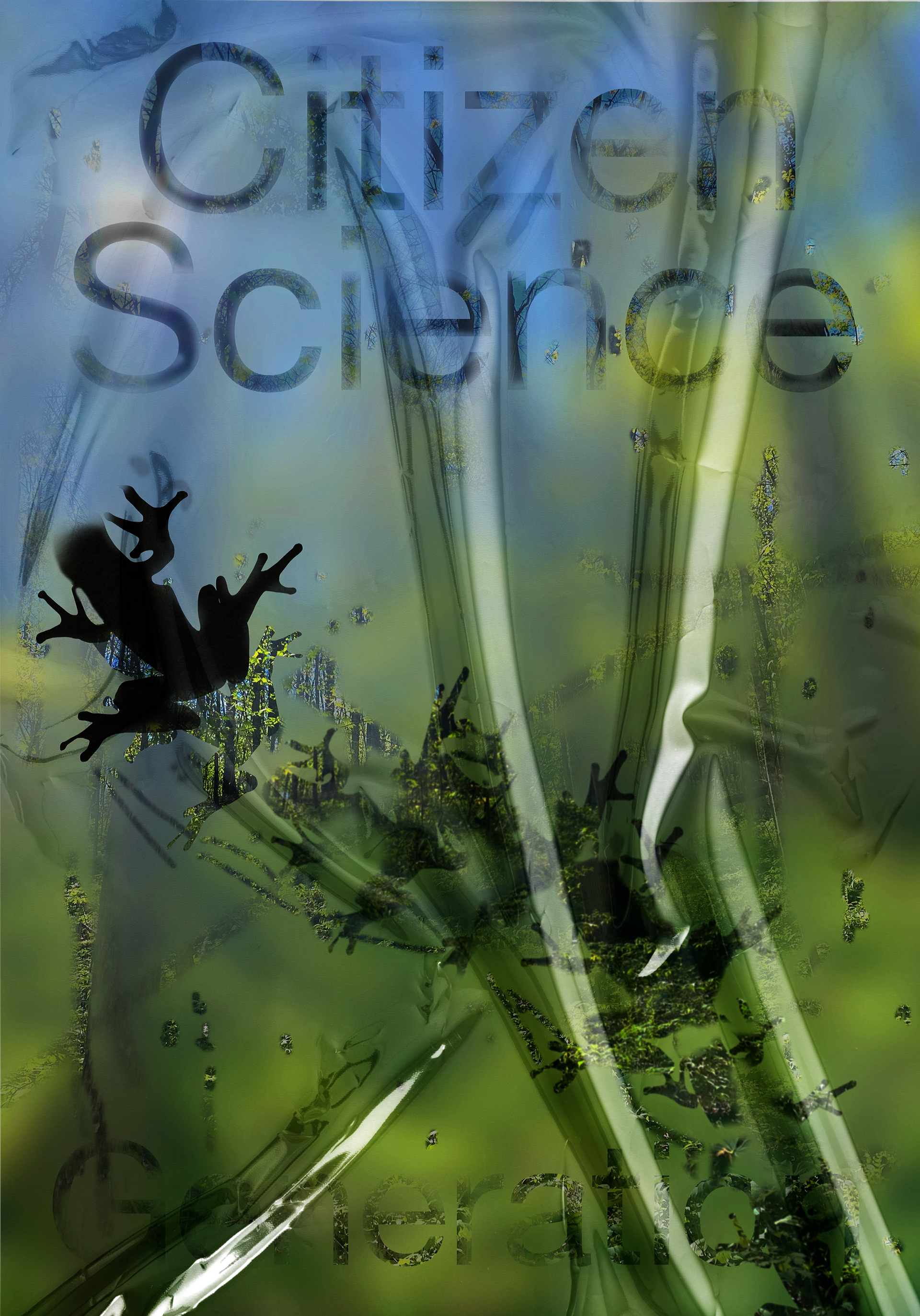 Poster with the text 'Citizen Science Generation'