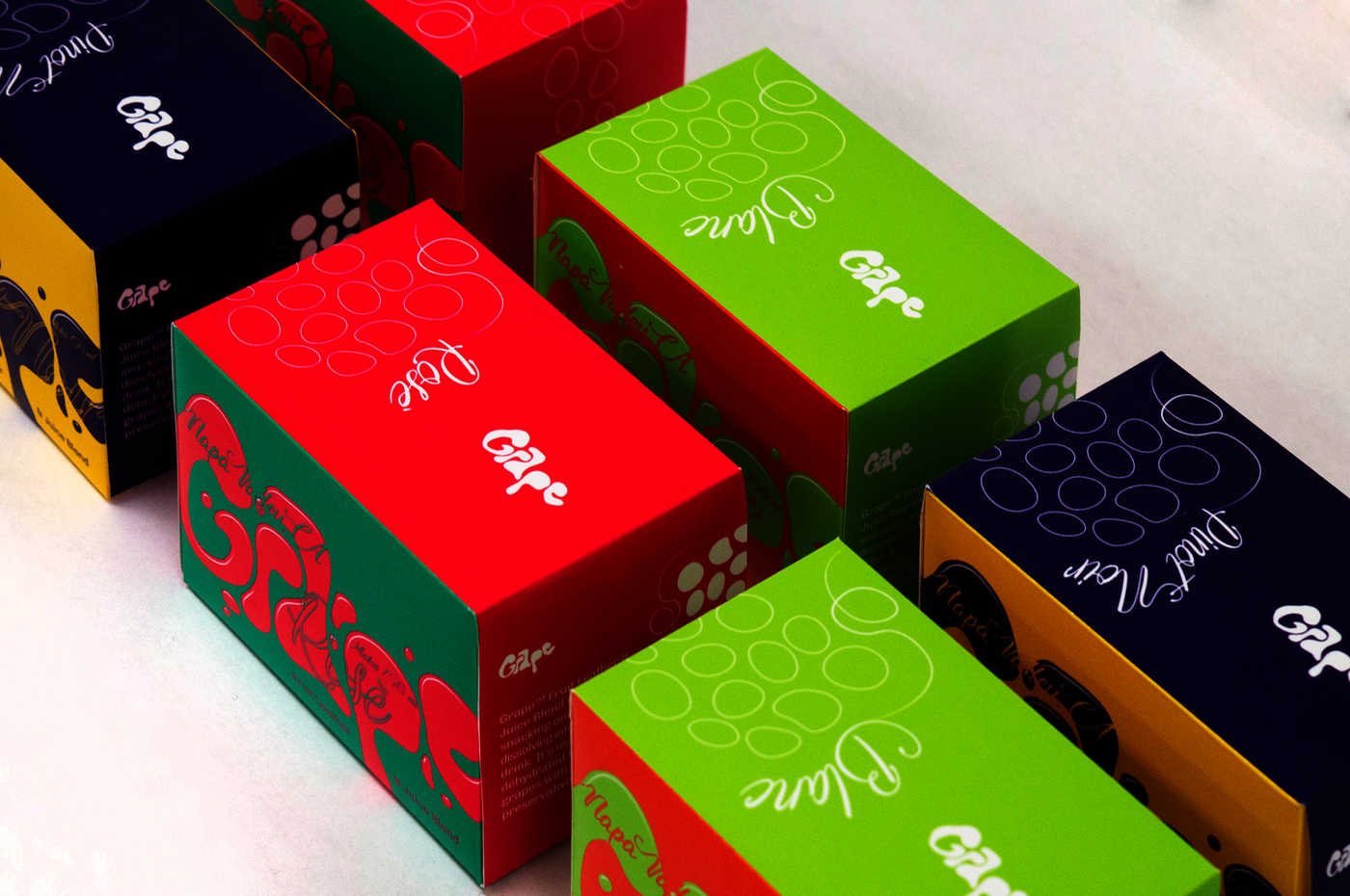 A fictitious branding project for a fruit leather product.
