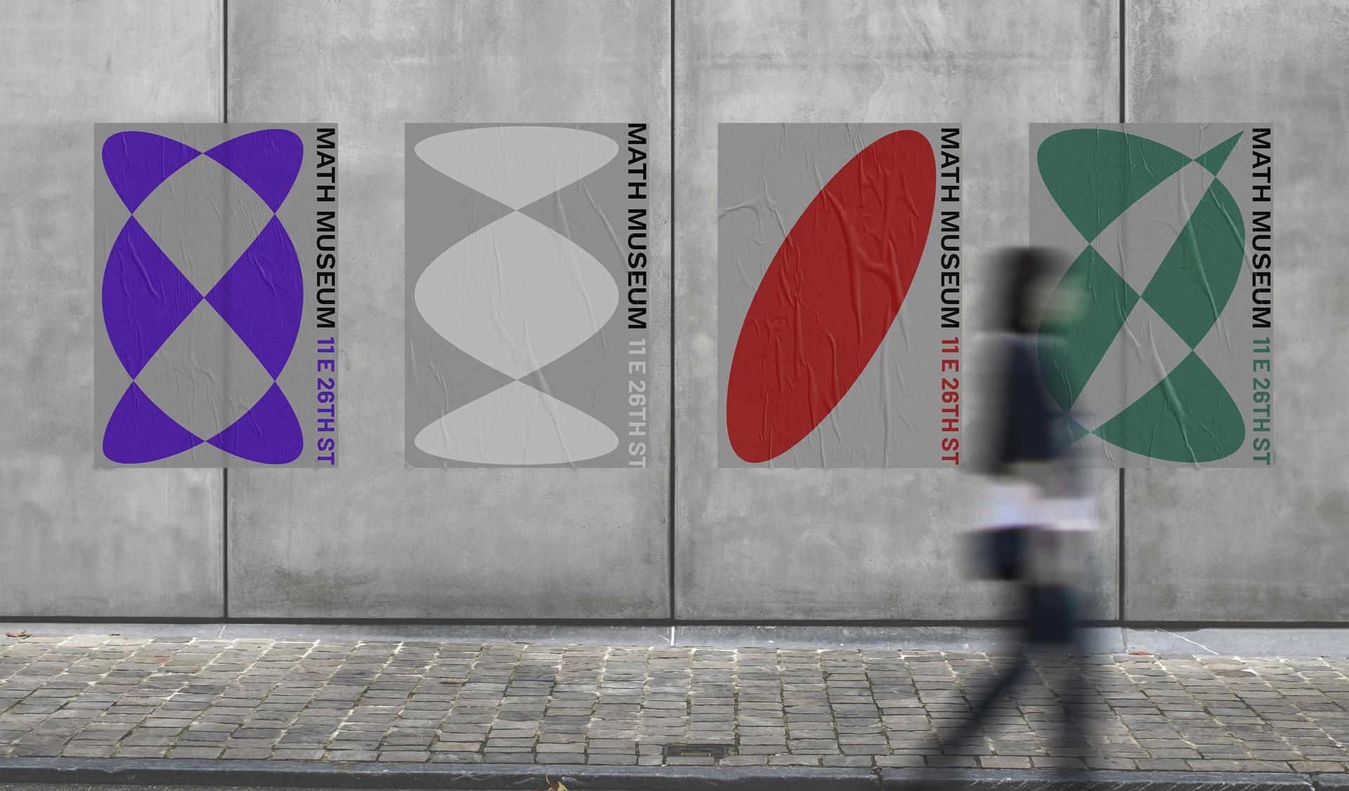 Poster designs for Math Museum
