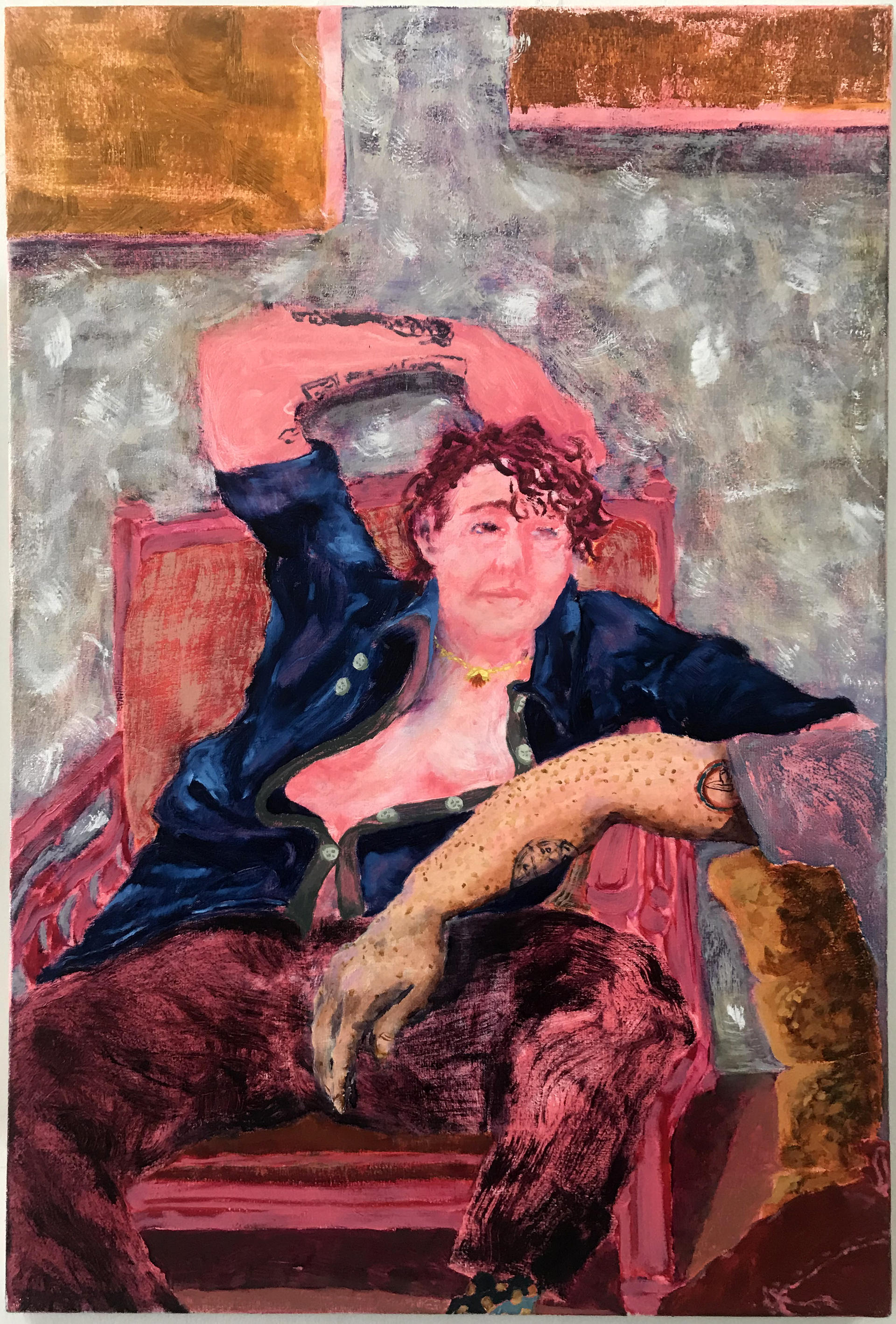 portrait of a person in a chair